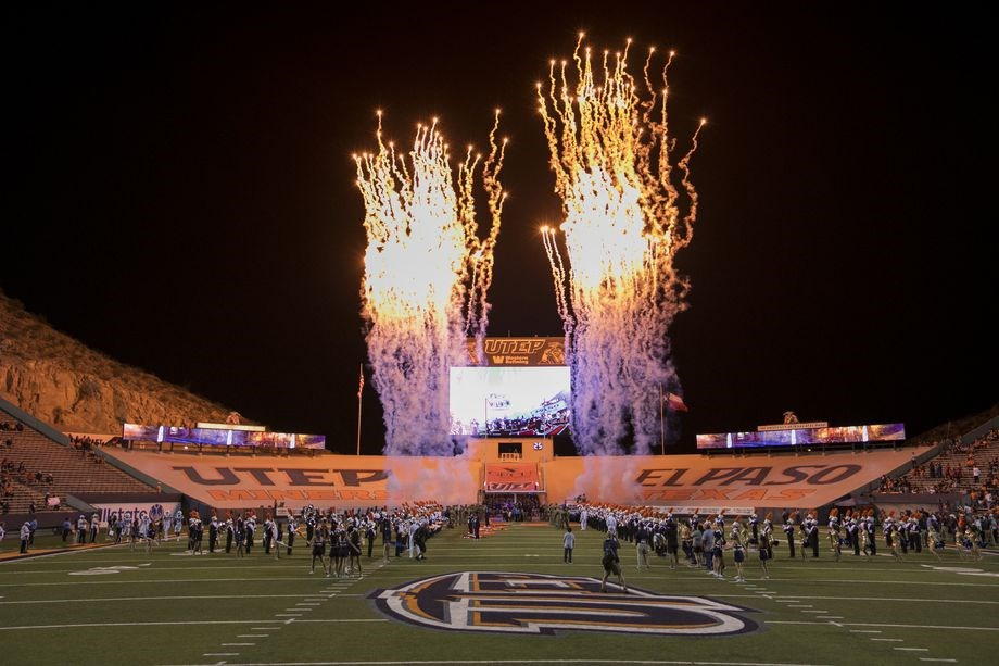 Saturday's UTEP Football Game to Feature Postgame Fireworks