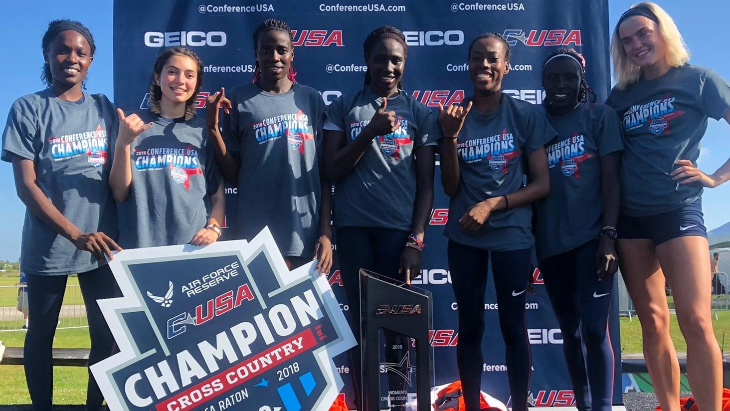 UTEP Women's Cross Country Team Claims First Conference Title