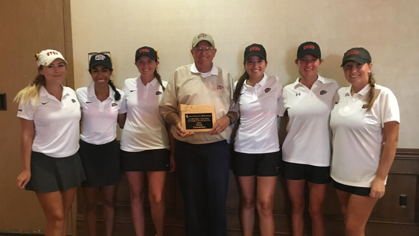 UTEP Women's Golf Wins First Title of Season at The Wyoming Cowgirl Desert Classic